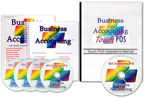Small Business Accounting Software, Cash Register Software