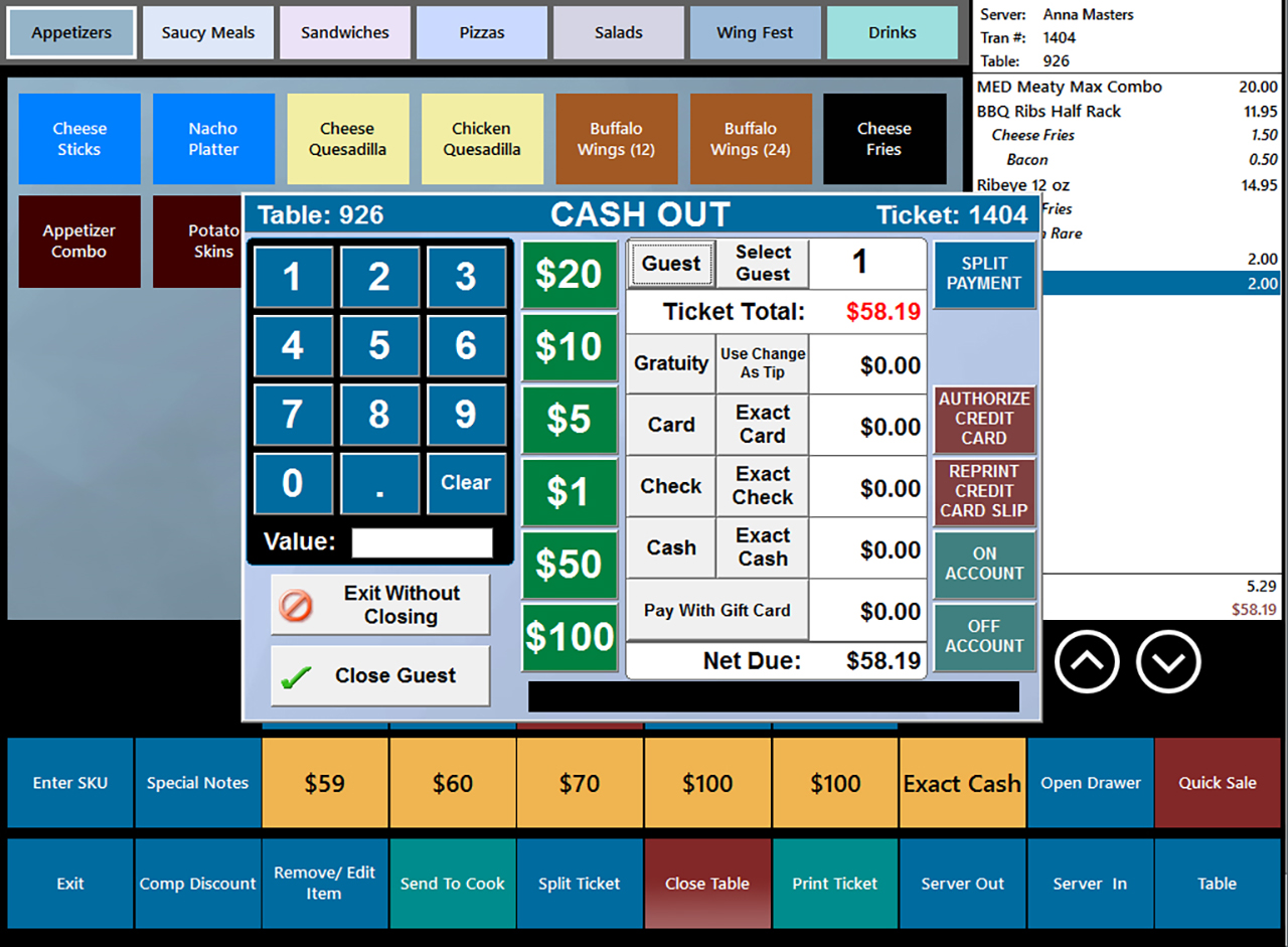 Restaurant Pos Software Restaurant Point Of Sale Systems